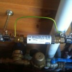 ScaleBuster SB20 water conditioner in a domestic installation