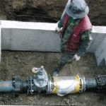 ScaleBuster SB150 water conditioner installation in a municipal network