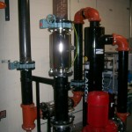 ScaleBuster SB80 water conditioner installation in an EnviroTower system