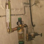 water conditioner in a domestic installation - ScaleBuster SB20