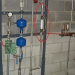 water conditioner installation in an EnviroTower system - 7. ScaleBuster SB32