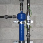 water conditioner installation in an EnviroTower system - ScaleBuster SB40