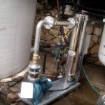ScaleBuster SB50 water conditioner installation in a hardness reduction system